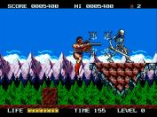 Rastan Saga II Jump attack!