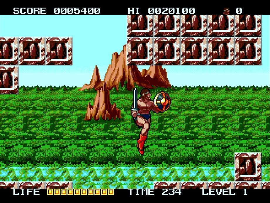 Rastan Saga II Jump!