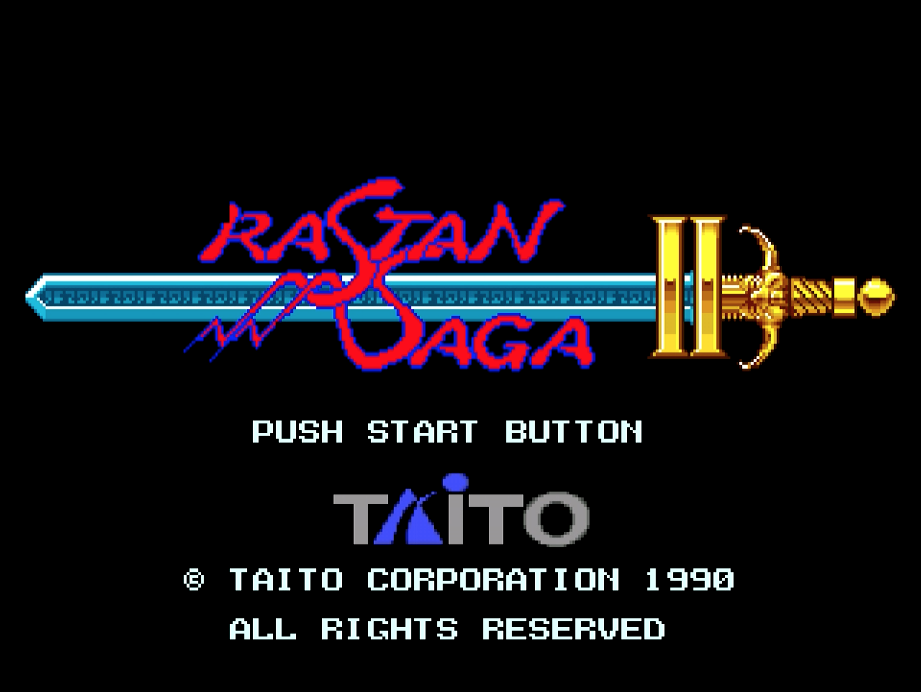 Rastan Saga II Sega Mega Drive