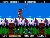 Rastan Saga II Swinging