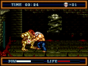 Splatterhouse Part 3 groin punch!