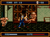 Splatterhouse Part 3 punch!