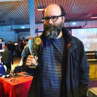 Tetris champion Johan Paradis