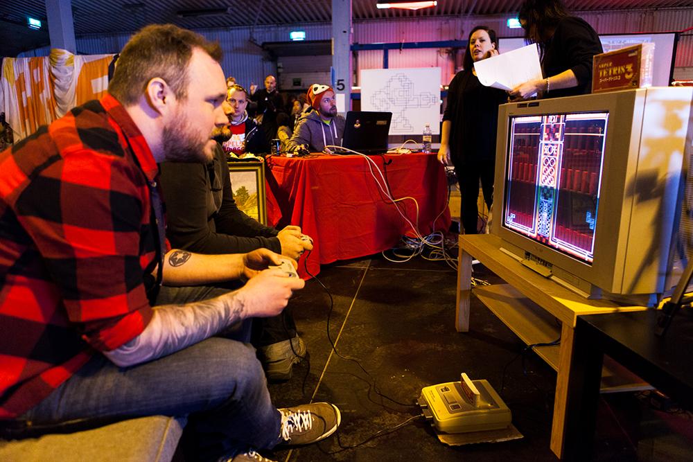 Tetris competition at RSM