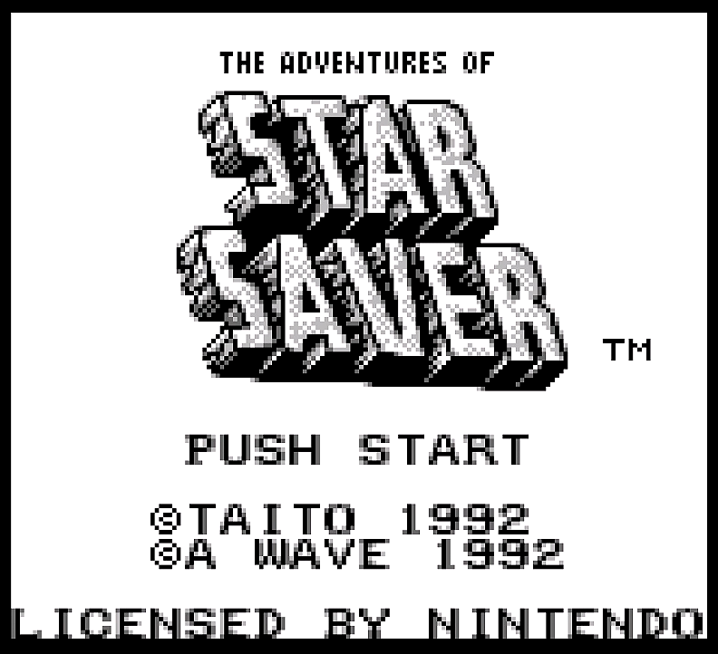 The Adventures of Star Saver intro