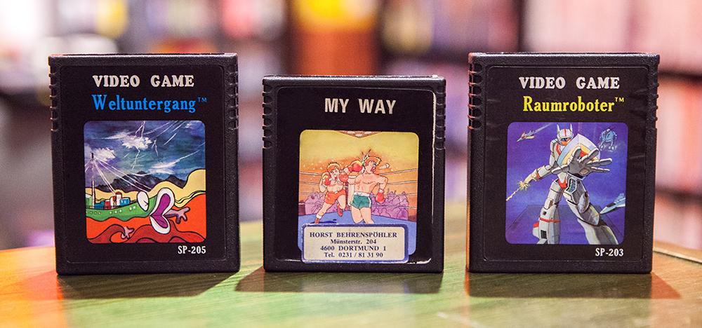 Weltuntergang, My Way & Raumroboter - Atari 2600