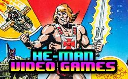 HE-MAN video gamescollection