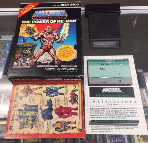 Masters of the Universe The Power of He-Man for Atari 2600