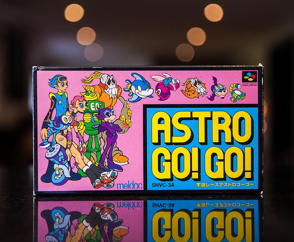 Astro Go! Go! - Super Famicom