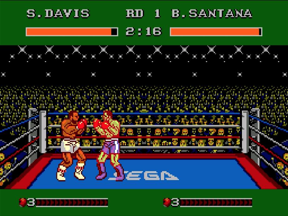 Heavyweight Champ - Sega Master System