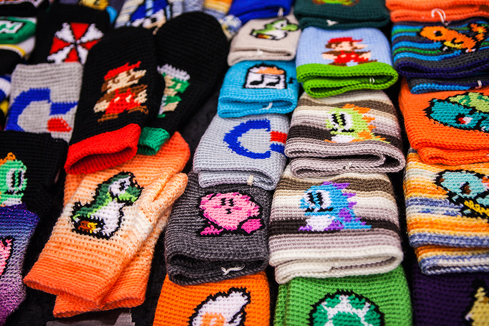 Knitted beanies - RSF