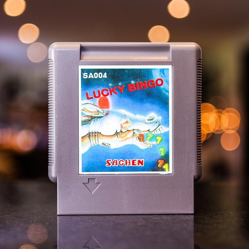Lucky Bingo - NES Sachen