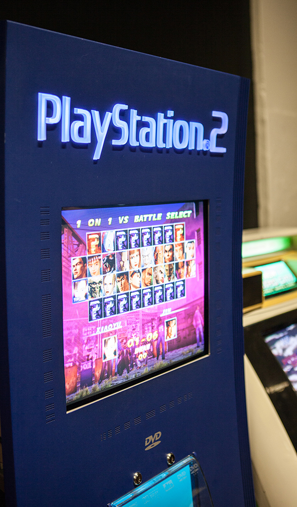 PS2 demostand - RSF