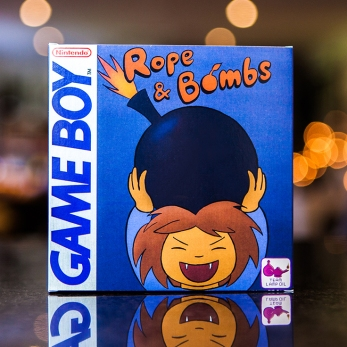 Rope & Bombs - Game Boy