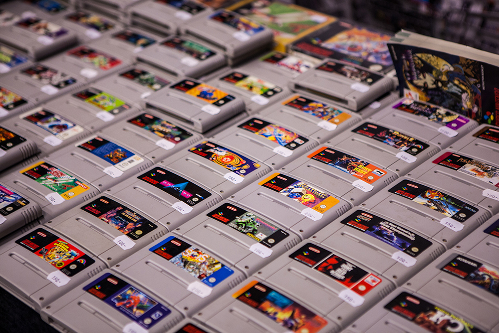 SNES games - RSF