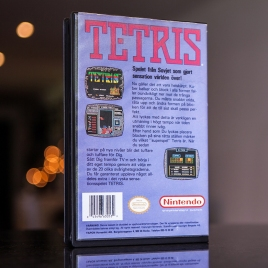 Tetris - NES Yapon rental case back