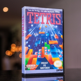 Tetris - NES Yapon rental case