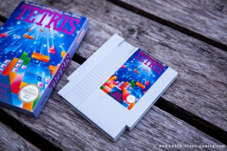 Tetris Asian version for NES light grey cartridge